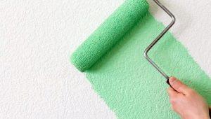 Валик для покраски стен: разновидности и особенности применения