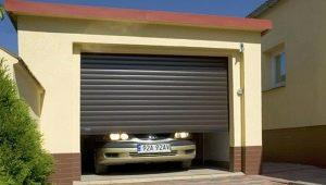 Ворота-рольставни для гаража: плюсы и минусы