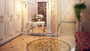 Выбор напольной плитки в коридор