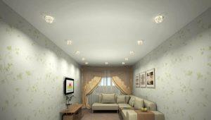 Белые матовые натяжные потолки: плюсы и минусы
