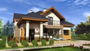 Дома с мансардой из пеноблоков: простые проекты и планировка пространства
