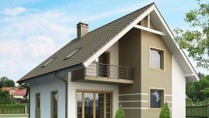 Двухэтажный дом с мансардой: красивые варианты построек