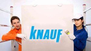 Гипсокартон Knauf: особенности материала и применение