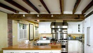 Использование декоративных балок на потолке в оформлении интерьера