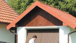 Изготовление и установка подъемных ворот своими руками