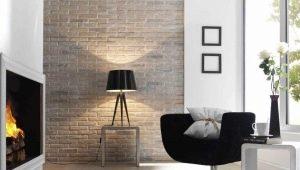 Как сделать эффектную «кирпичную» стену из штукатурки?