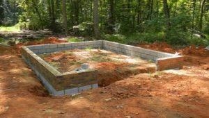Какой должен быть фундамент под гараж?
