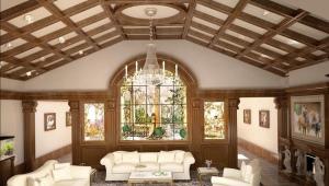 Какой должна быть высота потолков в частном доме?