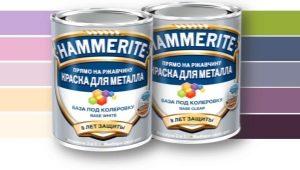 Краска Hammerite по металлу: свойства и применение