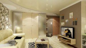 Многоуровневые натяжные потолки: особенности и виды