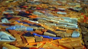 Мозаика из смальты в интерьере