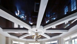 Натяжные потолки с гипсокартоном: особенности сочетаний