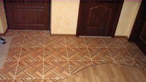 Правила оформления стыка ламината и плитки