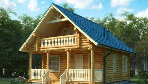 Проекты деревянных домов с мансардой: особенности конструкций