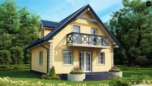 Проекты домов размером 7 на 9 с мансардой: самые популярные варианты