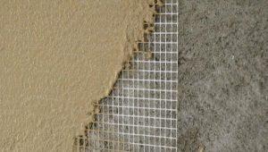 Стеклотканевая штукатурная сетка: назначение и виды