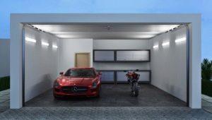Светильники для гаража: виды и их характеристика