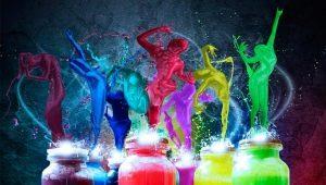 Светящаяся краска: преимущества и недостатки