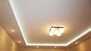 Технология монтажа короба из гипсокартона на потолке