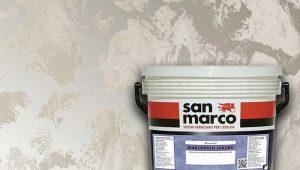 Виды и особенности штукатурки San Marco