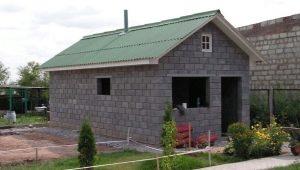 Баня из керамзитобетонных блоков: инструкция по изготовлению