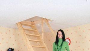Чердачная лестница: виды конструкций