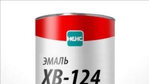 Эмаль «ХВ-124»: технические характеристики, расход и применение