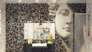 Плитка-мозаика для ванной: дизайн и укладка