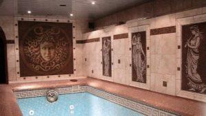 Римская мозаика в интерьере