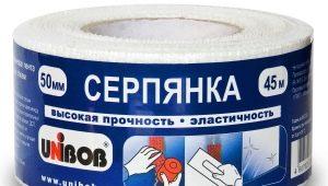 Серпянка для гипсокартона: выбор и применение армирующей ленты