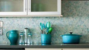 Стеклянная мозаика: красивые идеи в дизайне интерьера