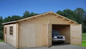 Строим деревянный гараж своими руками