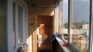 Устройство сауны на балконе: советы по установке и оформлению