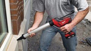 Аккумуляторный пистолет для герметика: плюсы и минусы