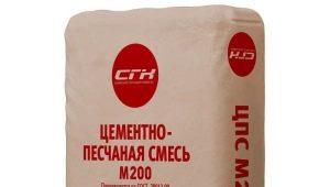 Цементно-песчаная смесь: особенности и технические характеристики