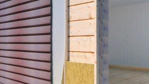 Особенности выбора наружного утеплителя для стен дома под сайдинг