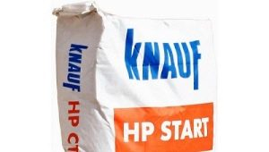 Штукатурные смеси Knauf: технические характеристики составов