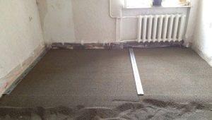 Сухие смеси: выбираем ремонтные составы для стяжки