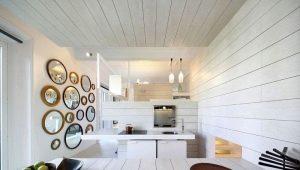 Белая вагонка: красивые идеи в дизайне интерьера
