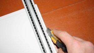 Чем резать панели ПВХ: выбор инструмента