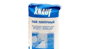 Клей Knauf: разновидности и применение