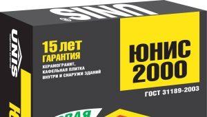 Клей Unis 2000: свойства, расход и применение