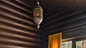 Отделка блок-хаусом внутри дома: идеи дизайна