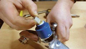 Принцип устройства керамического картриджа для смесителя