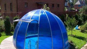 Как правильно организовать бассейн в теплице?