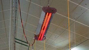 Виды инфракрасных обогревателей для теплиц