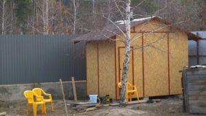 Как построить сарай и хозблок из ОСБ?