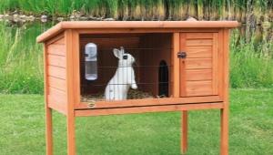 Какими бывают вольеры для кроликов и как их строить?