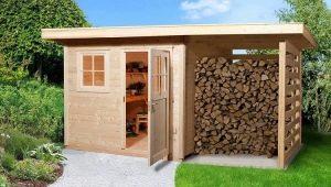 Все о строительстве хозблоков с дровяником