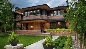 Дома из красного кирпича: проекты и дизайн
